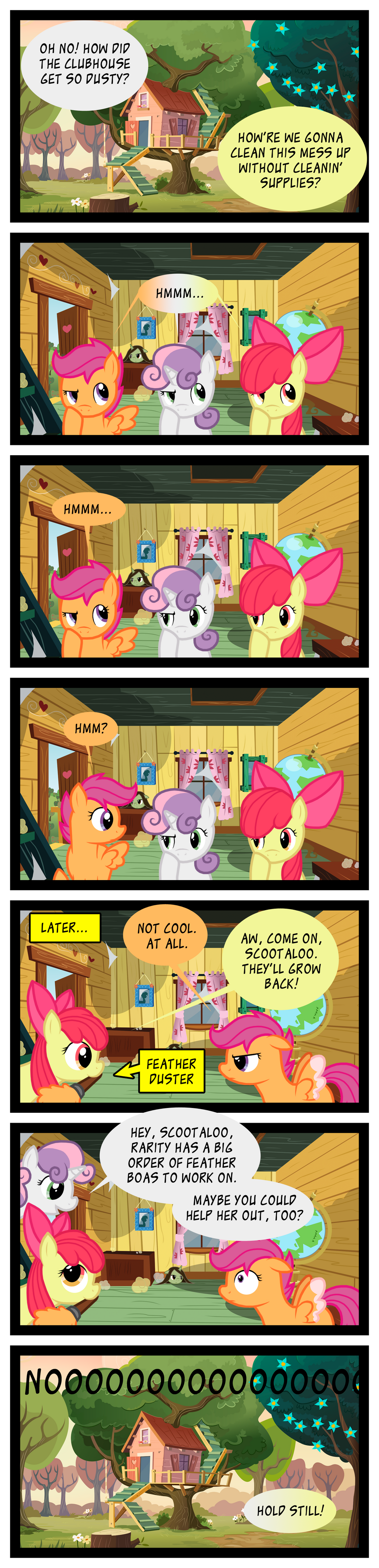 Scootaloo's True Calling by LazingAbout94