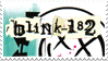 Blink 182 Stamp by LazingAbout94