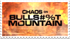 Chaos of Bullshit Mountain Stamp by LazingAbout94