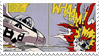 Lichtenstein Pop Art Stamp by LazingAbout94