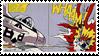 Lichtenstein Pop Art Stamp by LazingAbout94
