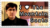 The Mountain Goats Stamp by LazingAbout94