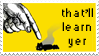 Zero Punctuation Stamp by LazingAbout94