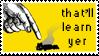 Zero Punctuation Stamp by LazingAbout94