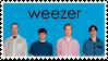 Weezer Blue Album Stamp