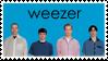Weezer Blue Album Stamp by LazingAbout94