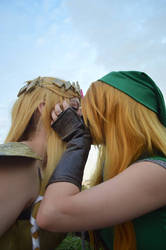 The one where Link finally gets the girl - Six