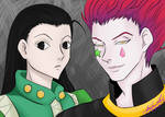 Hisoka and Ilumi by chiketart