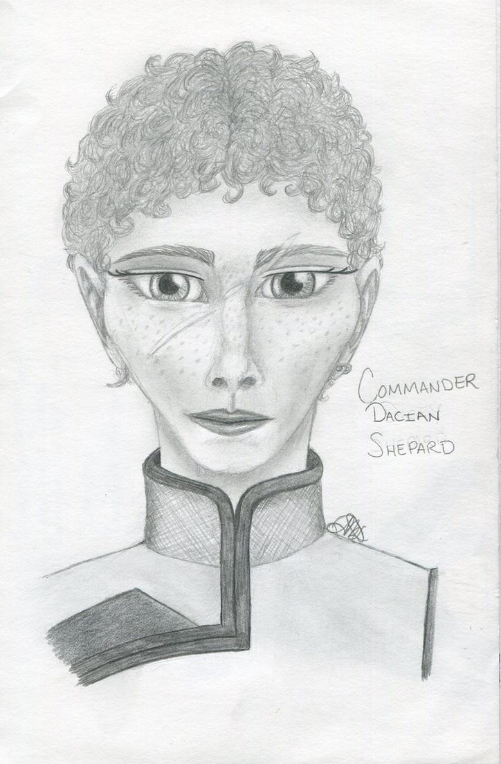 Commander Dacian Shepard by intrepid-Inkweaver