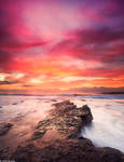 Sunrise at North beach, Wollongong