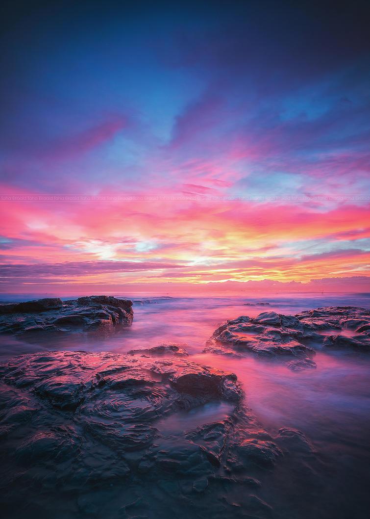 Sky on Fire by TahaElraaid