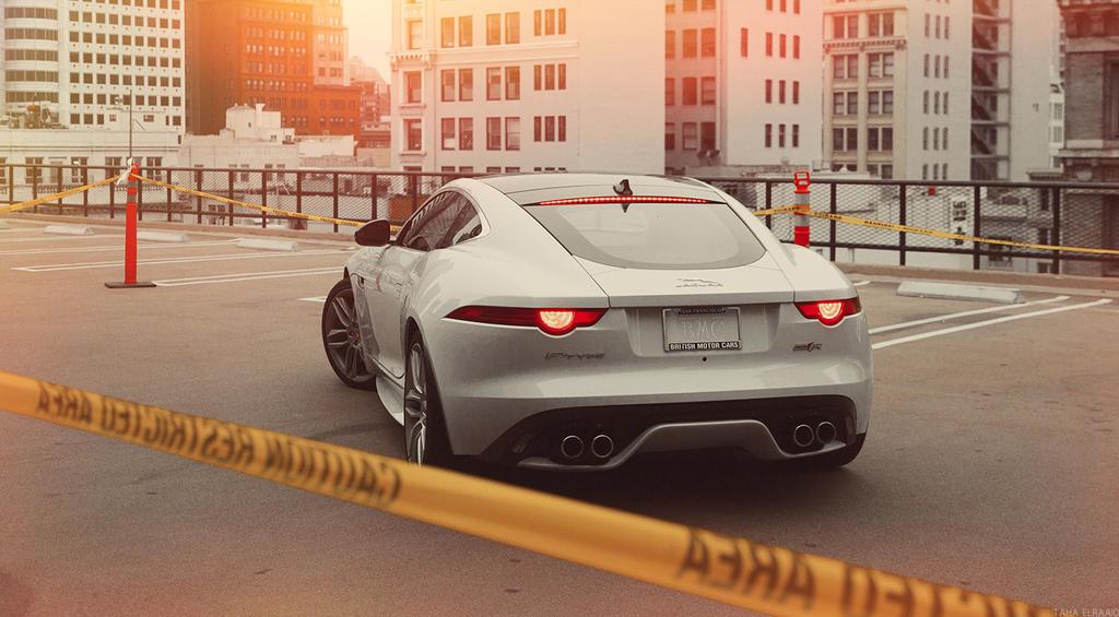 Jaguar F Type R by TahaElraaid