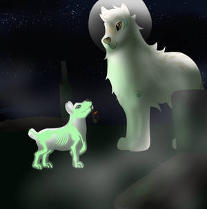 Tokoween - Skeleton glow