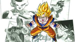 Dragon Ball Sagas Wallpaper