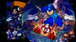 Megaman and Rush by VigorzzeroTM