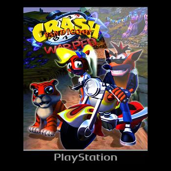 Crash Bandicoot Warped -Icon by VigorzzeroTM