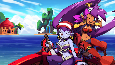 Shantae and the Pirate's Curse by VigorzzeroTM