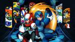Mega Man X4 by VigorzzeroTM