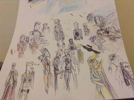 dragunalb charactor sketchs