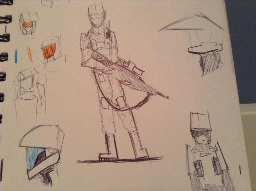 marine doodles by Lambda-fallout125