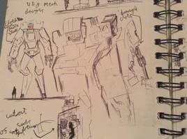 UEG mecha by Lambda-fallout125
