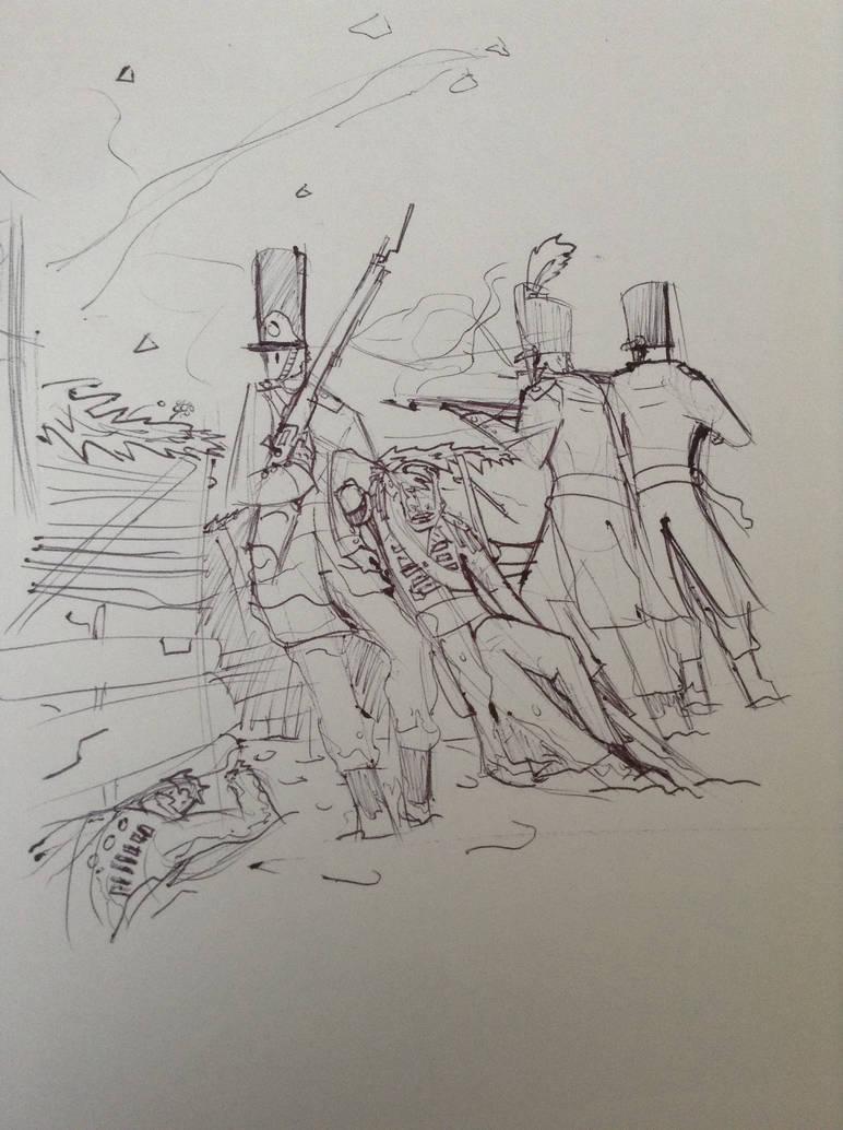 Napoleonic trench  by Lambda-fallout125