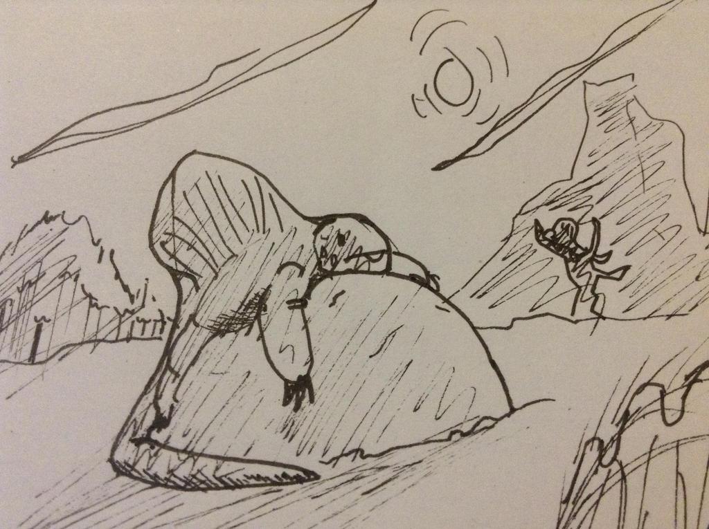 Dimetrodon by Lambda-fallout125