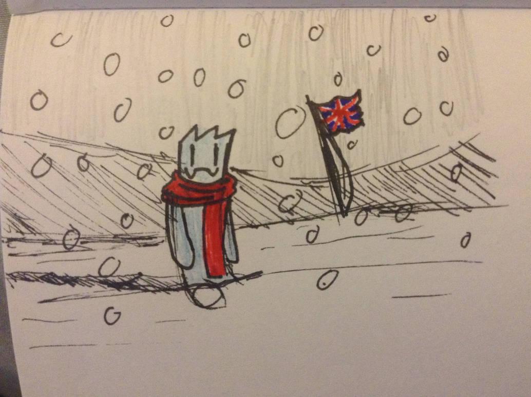 Tis Snowing by Lambda-fallout125