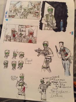 Opposing Force: Adrian Shephard Doodles