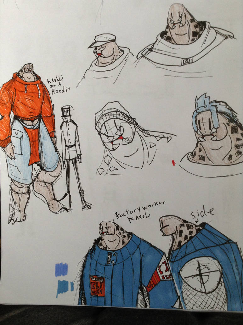 Kavali Clothing Doodles by Lambda-fallout125