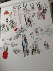 Walkri wildlife Doodels by Lambda-fallout125