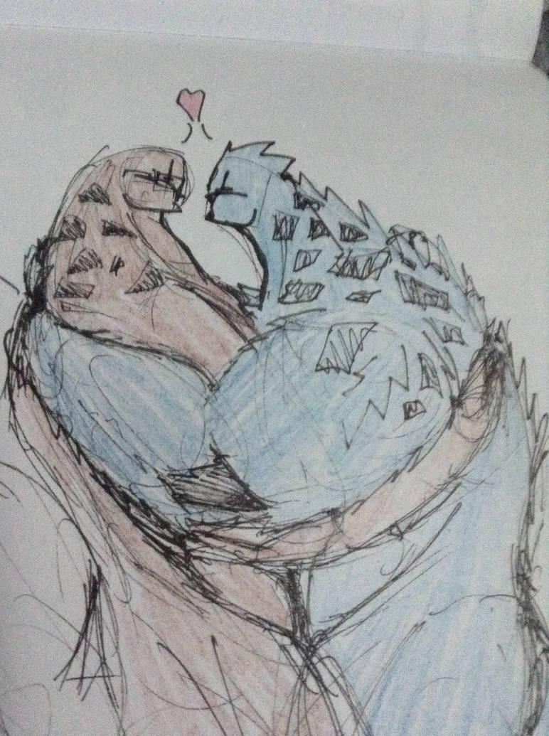 Kavali couple coudle doodle by Lambda-fallout125