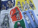 Even mo'marine doodles by Lambda-fallout125