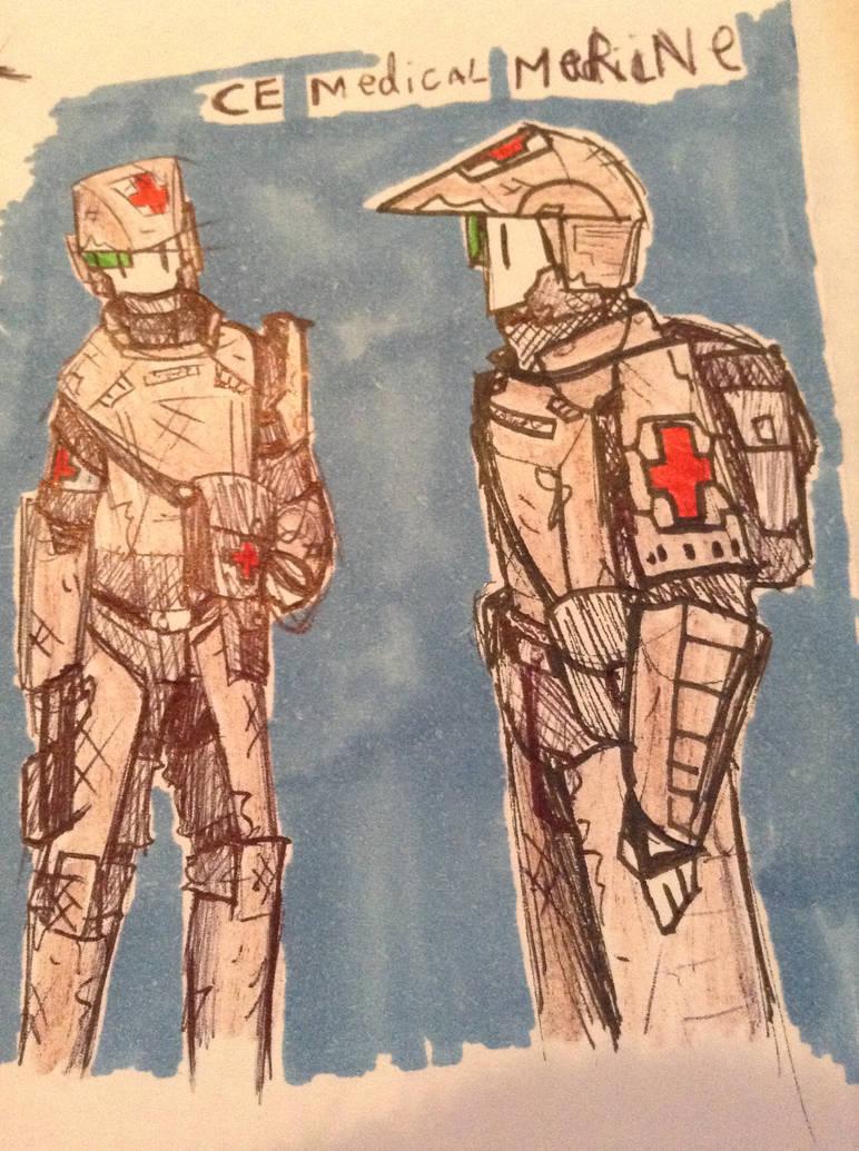 CE medical Marine by Lambda-fallout125