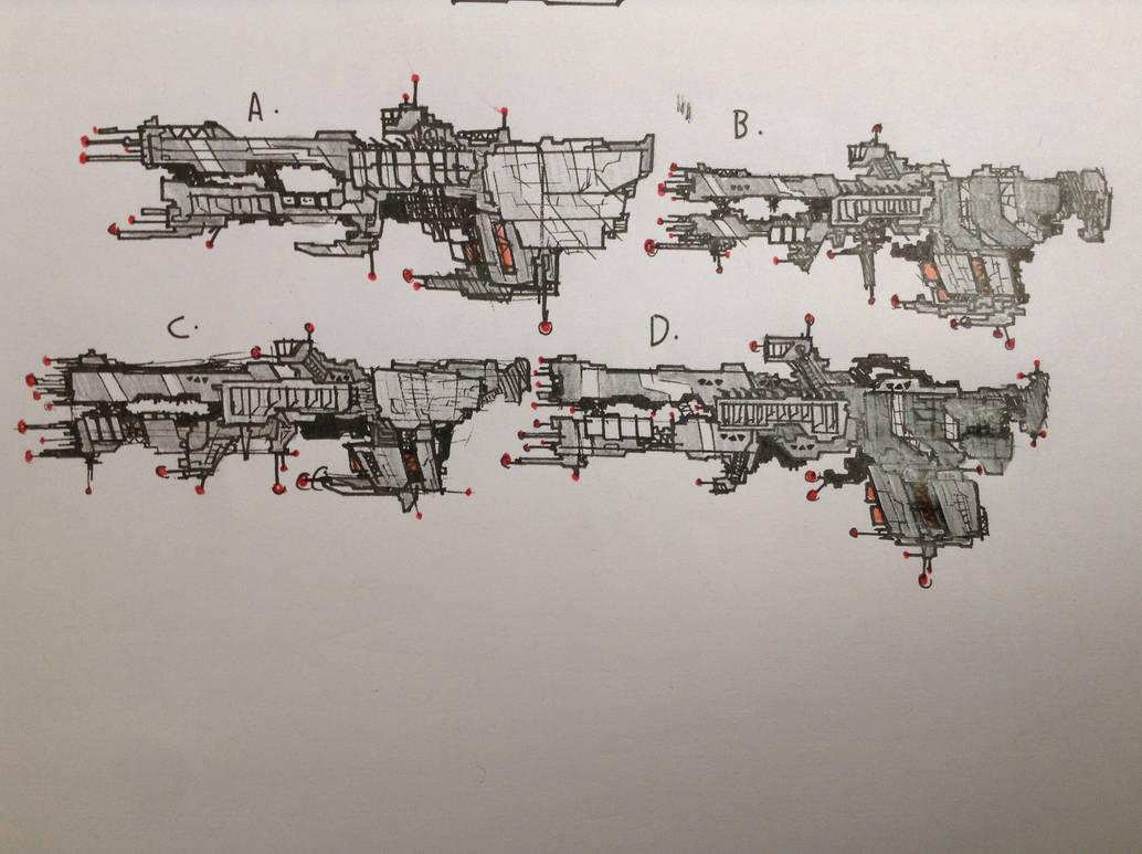Frigate Designs by Lambda-fallout125