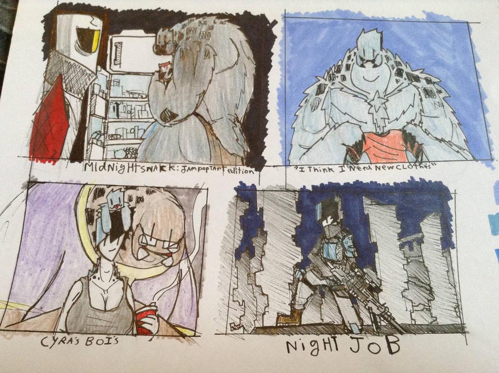 Cyra Doodles 8 by Lambda-fallout125