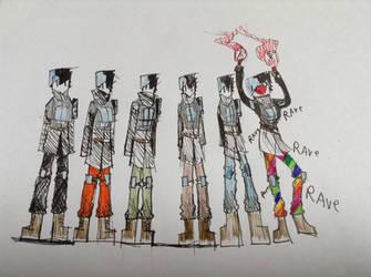 Trouser colours by Lambda-fallout125