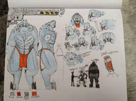 Cyra Walvali-form:Reference Sketches by Lambda-fallout125