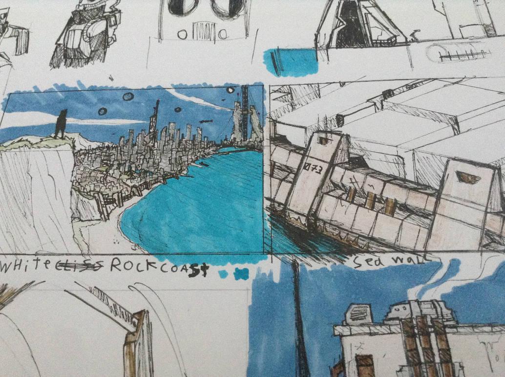 WhiteRock City Doodles by Lambda-fallout125