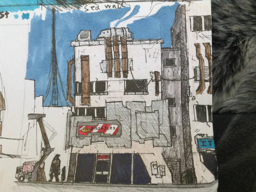 WhiteRock Downtown Building by Lambda-fallout125