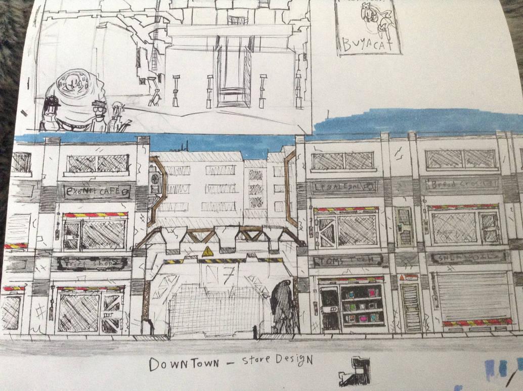 Whiterock retail stores by Lambda-fallout125