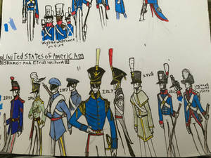 American shako uniforms