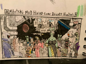 Martski mob : bounty hunters