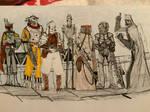 December doodles 30 bounty hunters