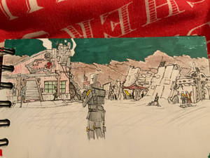 Coalmar outland sketch
