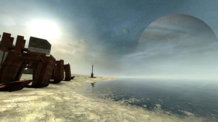Ganymede skybox mockup