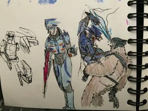 Halo doodles 18/1/20