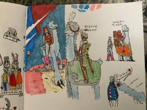 Space Llama Doodles 16/5/20