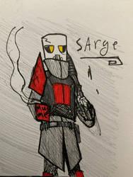 Sarge doodle 19/5/20