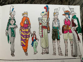 Ossel clothing designs